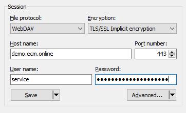 ELO Invoice Stammdaten hochladen – ecm online